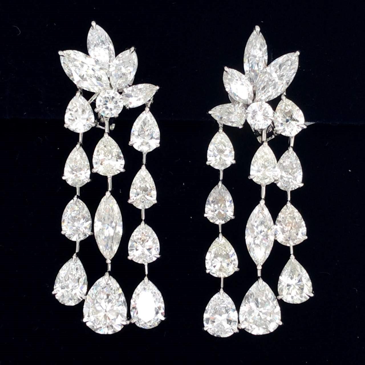 24.22_Ct_Diamond_Chandelier_Earrings