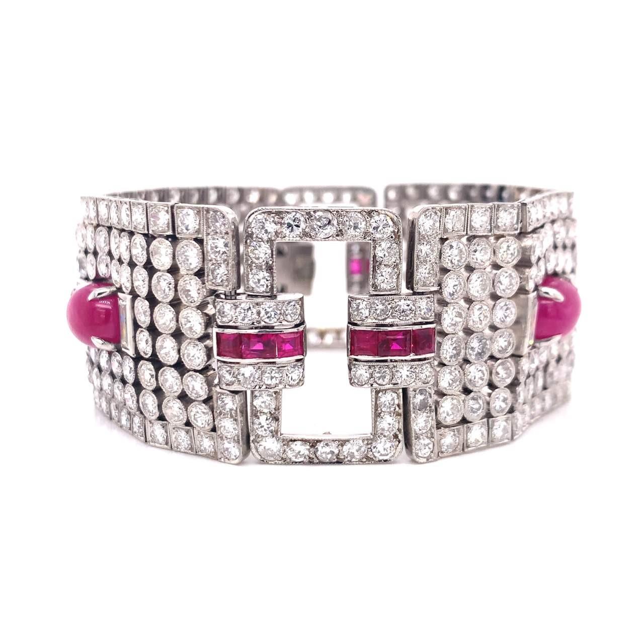 Art_Deco_Ruby_And_Diamond_Bracelet